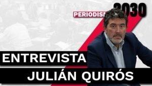Entrevista Julián Quirós