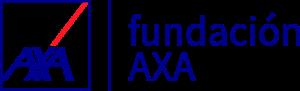 Logo fundación AXA patrocinador de periodismo 2030