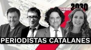 Debate periodistas catalanes